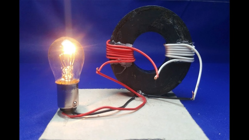 Free Energy Generator Magnet Coil 100 Real New Technology New Idea Project - at home 2018