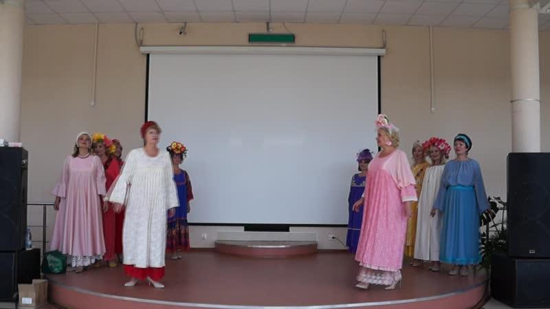 Петербургская модница на ФестивалеЛюбящее сердце России 17 августа 2019 г. , город Пушкин