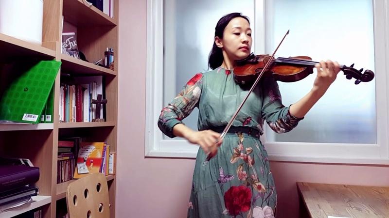 스즈키3권 바흐 미뉴에트 바이올린 강사 김민정 기초 바이올린 레슨 초급 바51