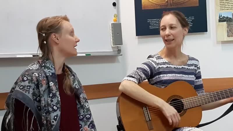Любава Нихаева и Снежана Белова - Детская песенка