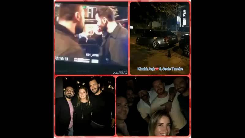 🆕🆕🆕 04-05.10.2018 Barış Arduç a cena fuori con Engin e altri amici 👊😎