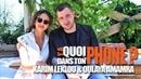 Karim Leklou Oulaya Amamra Y'A Quoi Dans Ton Phone Le Monde est à toi au cinéma le 15 août OKLM TV