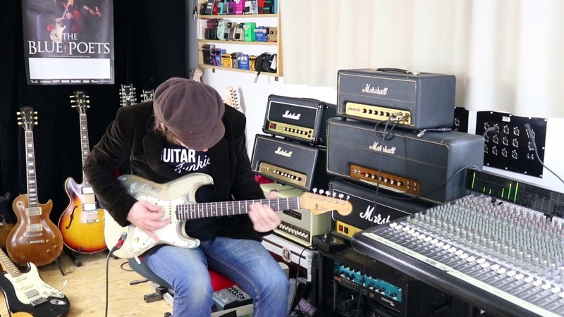 Guitar Junkie Ep.5 - Recording The Blue Poets with a Marshall studio vintage amp.