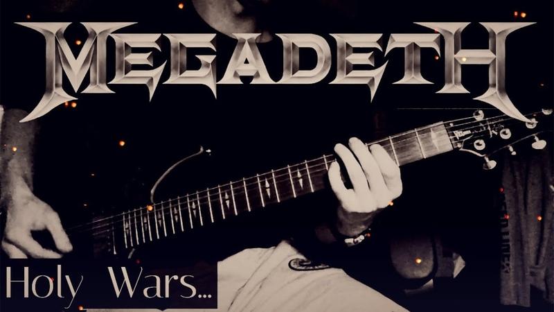 Megadeth - Holy Wars...The Punishment Due | Ivan Diezel (Guitar Cover)