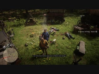 You try and be a good guy and help the law for once...Red Dead Redemption 2