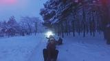 Катание на санках по лесопарку Мелитополь