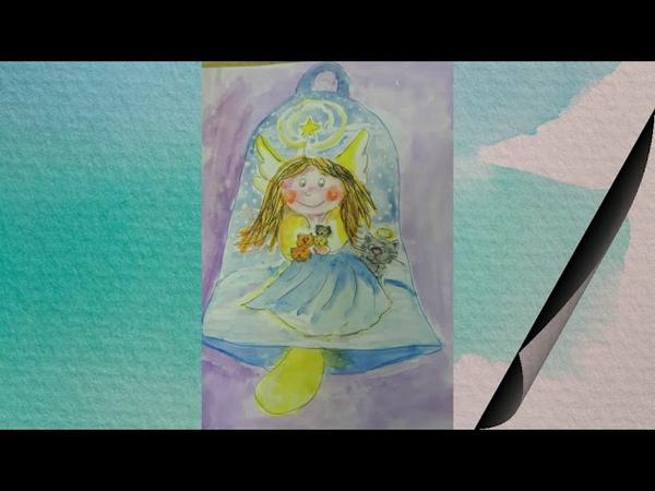 Конкурс рисунков и поделок «Рождественские колокольчики».