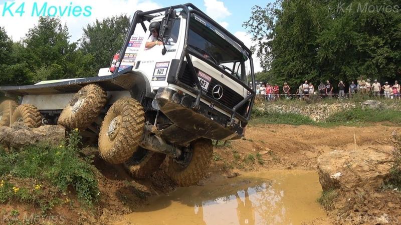 8x8 Mercedes-Benz truck in Europe truck trial   Off-Road   Langenaltheim, Germany 2018   no. 402