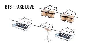 Bongo Cat - BTS 'Fake Love' (K-POP)