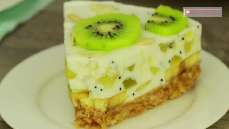 Восторг и море положительных эмоций - торт без выпечки, для любителей бананов и .TV