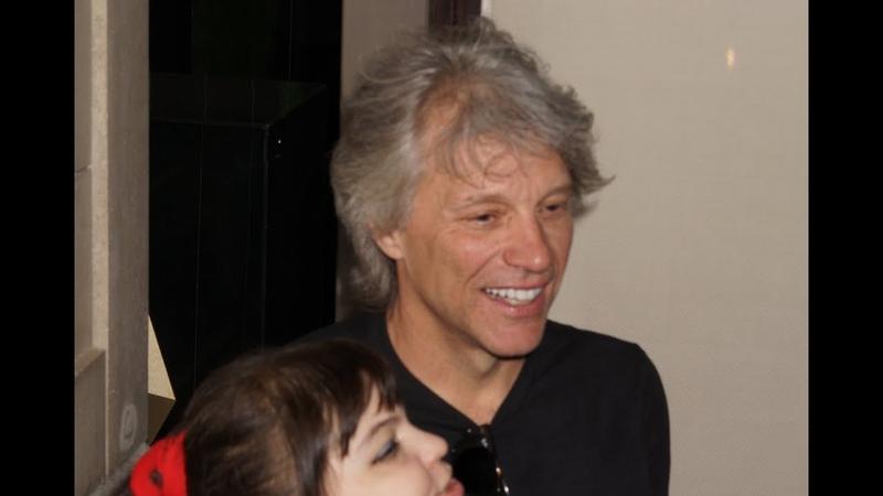 Bon Jovi (John Bongiovi) fans in Moscow 2019