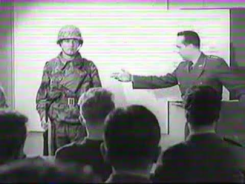 Bundeswehr Lehrfilm ABC Abwehr der Panzertruppen 1957