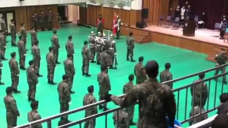 16.01.2019 Церемония завершения - Солдат И Джинки