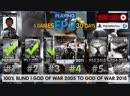 God of War: Ghost of Sparta EP2 | 6 GodofWar games 22 days left 100% Blind