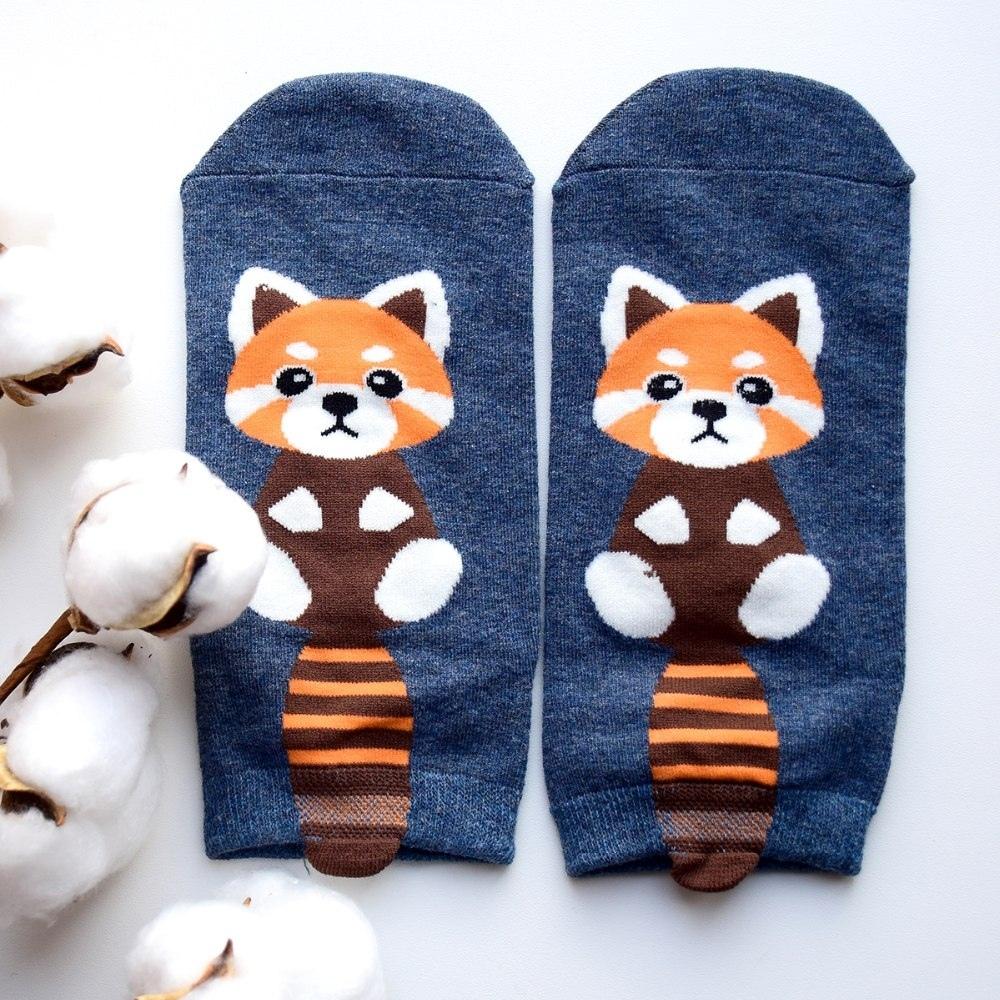 Милые носочки с рисунком зверят