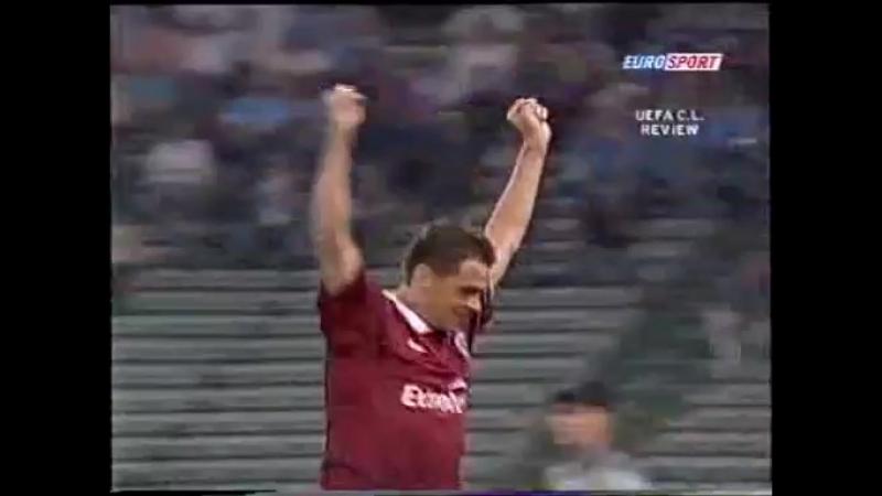 156 CL-2003/2004 Lazio Roma - Sparta Praha 2:2 (01.10.2003) HL