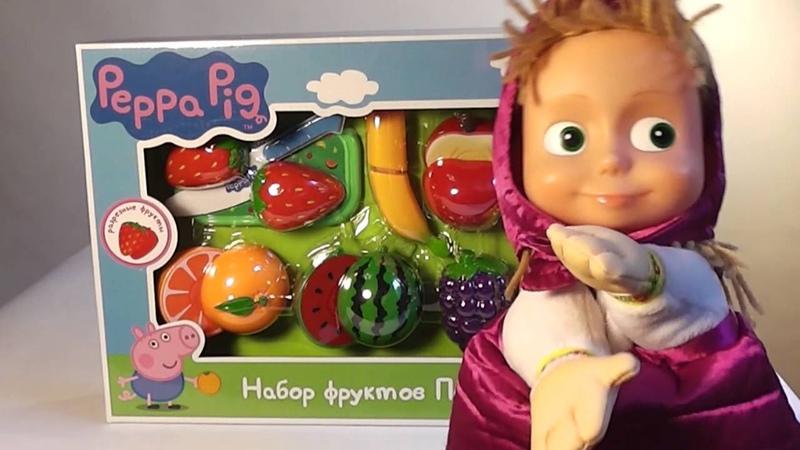 Маша и Медведь Кукольный театр Маша отмечает день рождения Стихи для детей