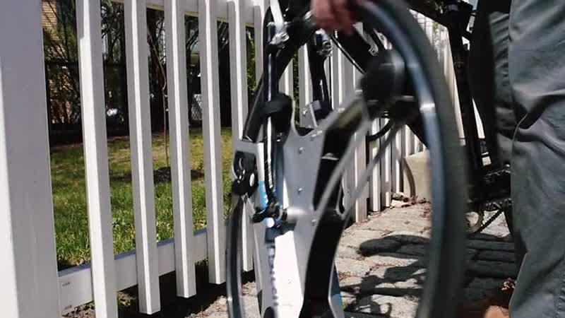 Вариант колеса-мотора от The GeoOrbital Wheel