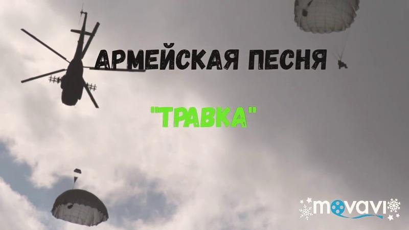 Красивая армейская песня ТРАВКА