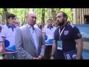 Дагестанец Султан Хамзаев презентовал проект «Трезвая Россия» Президенту страны. 3