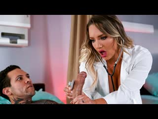 Cali carter - brazzibots: uprising part 3 (big tits, blonde, blowjob, uniform, nurse)