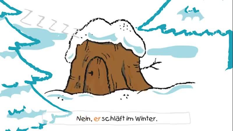 Max, der Igel, liebt den Winterschlaf - Winterlieder zum Mitsingen
