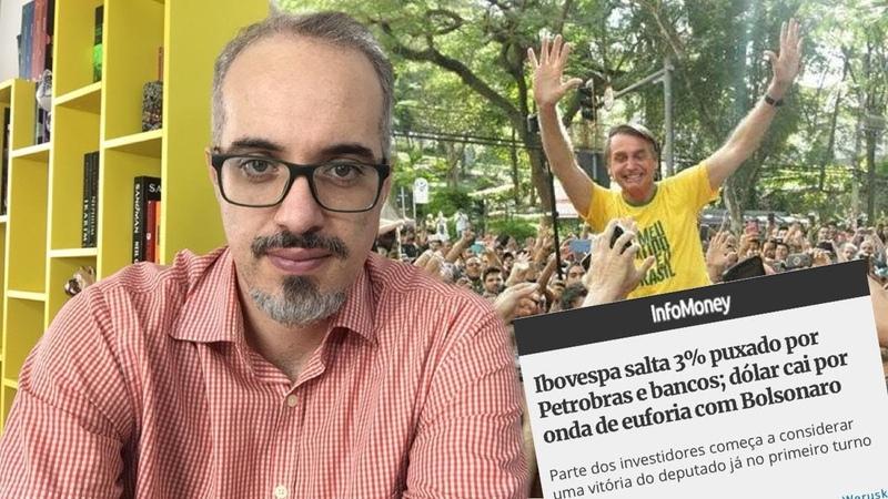 Jair Bolsonaro dispara na liderança e mídia volta a falar em vitória no 1º turno