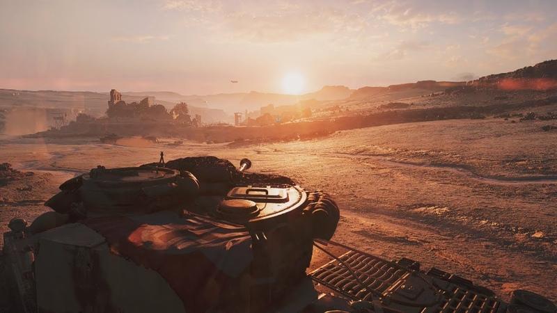 Самый Красивый Танковый Бой в Играх про Войну ! Танки Шерман и Тигры в Battlefield 5
