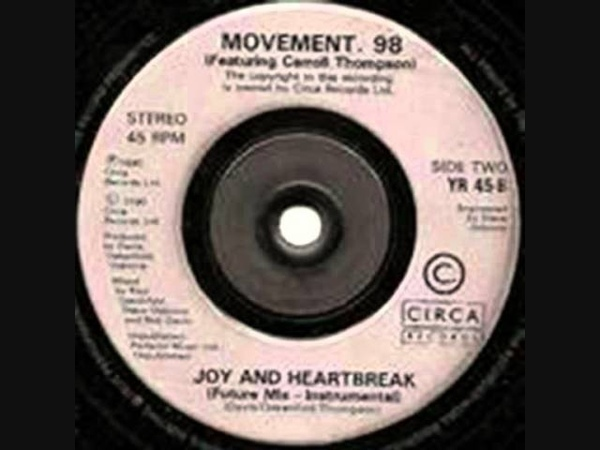 Movement 98 ft Carroll Thompson Joy Heartbreak Radio Edit