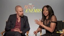 'Enemies' Stars Taraji P. Henson Sam Rockwell: Hate Is Not Our Natural State