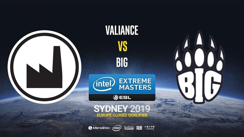 Valiance vs BIG - IEM Sydney 2019 Europe Closed QA - map1 - de_mirage [Gromjkeee]