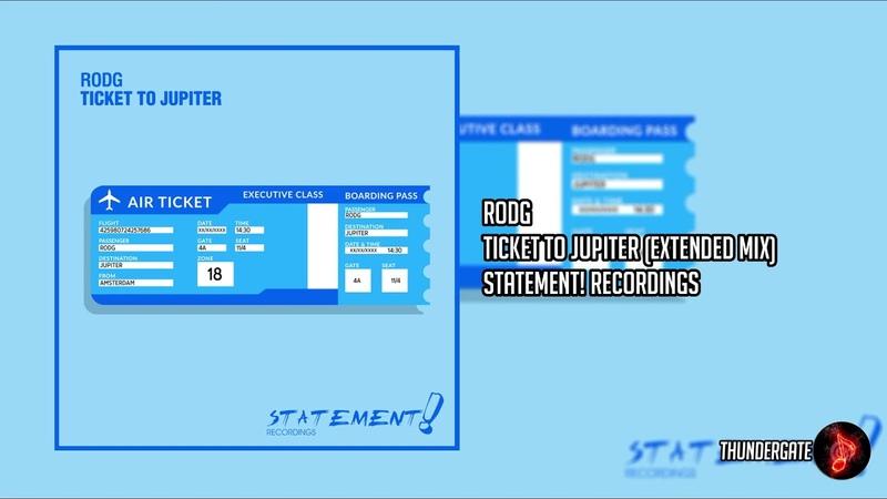 Rodg - Ticket To Jupiter (Extended Mix)