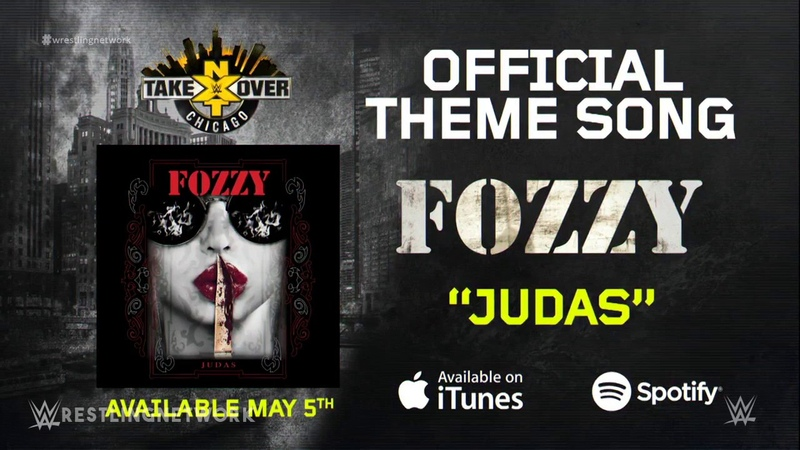 2017 | WWE NXT Takeover: Chicago 1st Official Theme Song - Judas by FOZZY