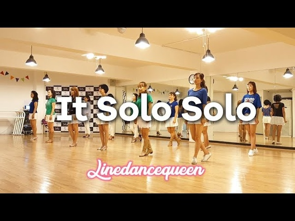It Solo Solo Line Dance (Easy Intermediate) Francien Sittrop Demo Count