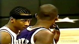 Allen IVERSON vs Kobe BRYANT - 1997 NBA Rookie Game!