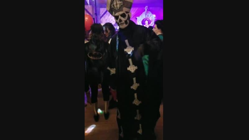 Papa II dancing