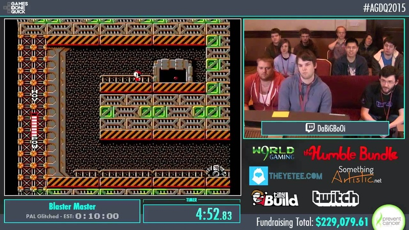 AGDQ 2015 Blaster Master Speed Run in 00847 by Coolkid AGDQ2015