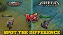MOBILE LEGENDS VS. ARENA OF VALOR   WHICH ONE IS BETTER ?   SIMILARITIES AND DIFFERENCES