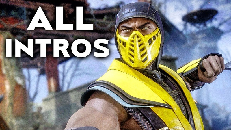MORTAL KOMBAT 11 All Intros Dialogue Character Banter Online Beta