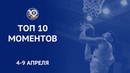 Единая баскетбольная лига (матчи 11-19 гг.) • Week 24. Top 10 Plays | Season 2018/19