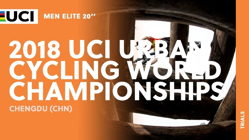 2018 UCI Urban Cycling World Championships - Chengdu (CHN) / Men 20'' Trials