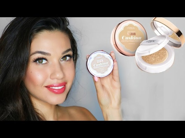 New L'Oreal True Match Lumi Cushion Foundation Review Drugstore Foundation Eman
