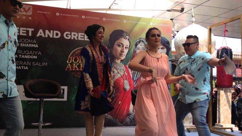 Paridhi Sharma Lavina Tandon Dance Di Meet Greet Blok M Square ANTV