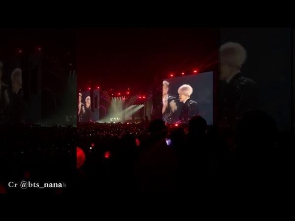 Fancam 190216 BTS @IDOL World Tour in Fukuoka Day 1 방탄소년단