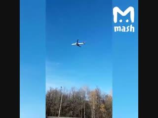 Внуково, посадка самолёта