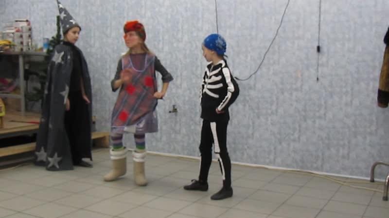 2011 декабрь НГ сценарий 1 вариант Изабелла Баба яга