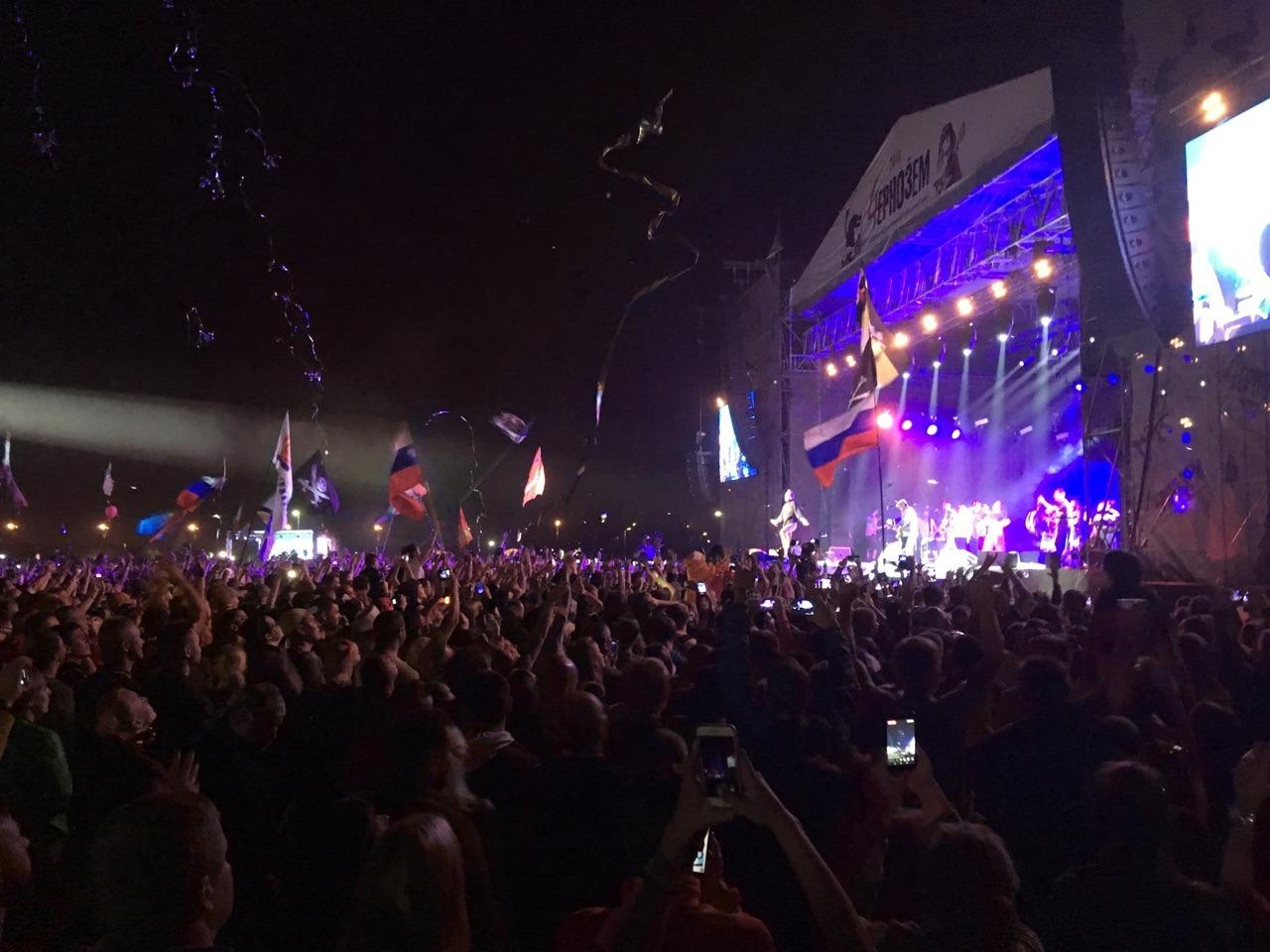 Тамбовский губернатор не побоялся приехать на концерт «Ленинграда»