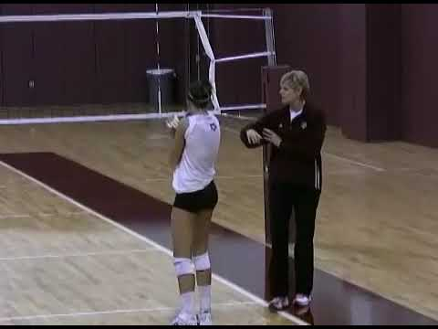 Texas AM Volleyball Attack Progression