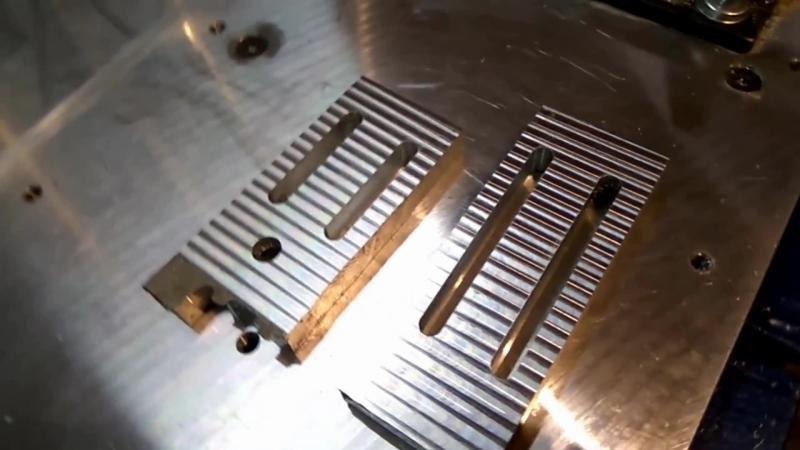 CNC aluminium milling test