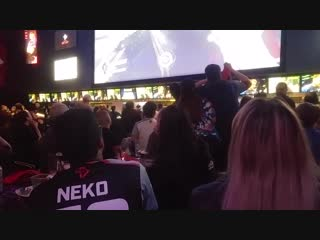 Heres the moment Toronto Defiants first ever OWL series ended, and how the fans at the watch party in Toronto reacted